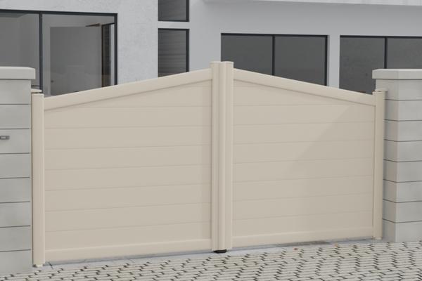 Portail PVC accueil